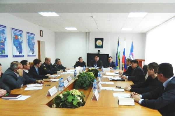 Заседание рабочей группы проекта «Безопасный социальный объект».