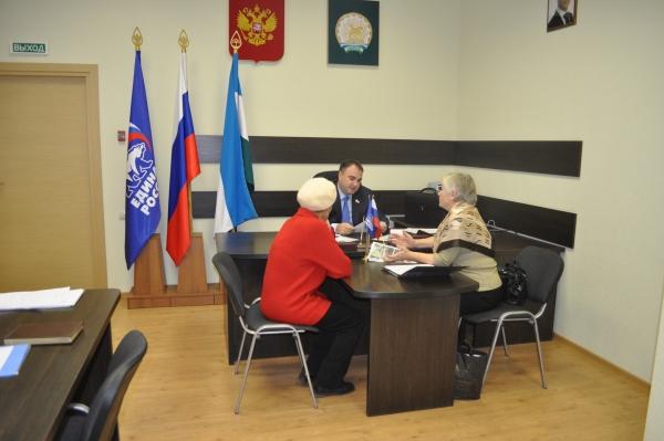 Депутат Госсобрания Тимур Хакимов провёл приём граждан в ОППП